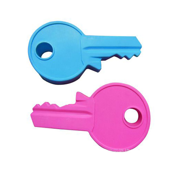 Key shape silicone rubber door stop