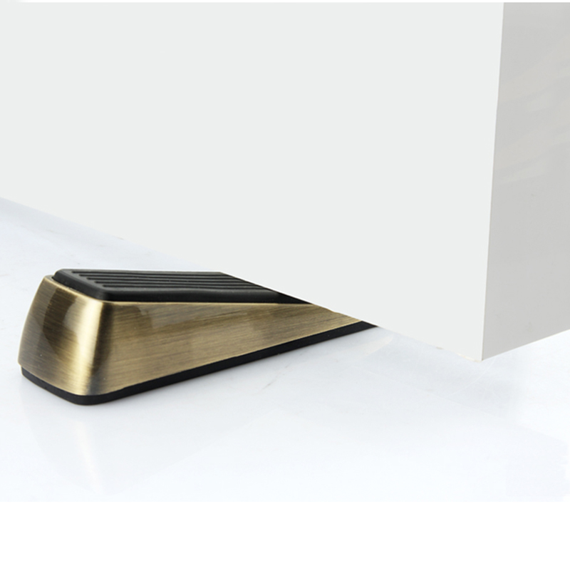 Stainless steel protective rubber door stopper