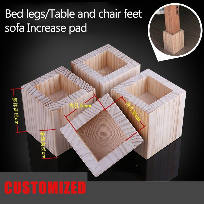 Bed legs Table and chair sofa Increase pad